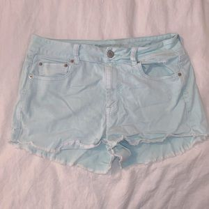 Mint American Eagle jean shorts